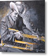 Jr. Brown Metal Print