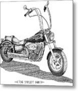 Juan's Harley Metal Print