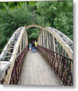 Jubilee Bridge - Matlock Bath Metal Print