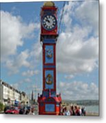 Jubilee Clock - Weymouth Metal Print