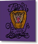 Judah The Real Lion King Metal Print