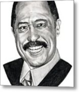 Judge Joe Brown Metal Print