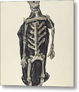 Judge Oscar O. Death Metal Print