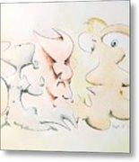 Judging Picasso Metal Print