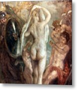 Judgment Of Paris Metal Print