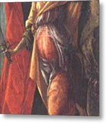 Judith Leaving The Tent Of Holofernes 1500 Metal Print