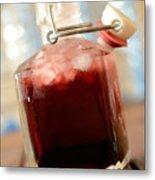Juice Of Cherries Metal Print
