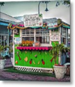 Juices And Smoothies Metal Print