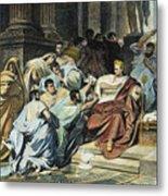 Julius Caesar (100-44 B.c.) Metal Print