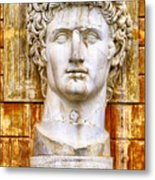 Julius Caesar At Vatican Museums 2 Metal Print by Stefano Senise