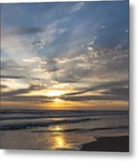 July 2015 Sunset Part 3 Metal Print
