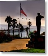 July 4th San Clemente Flyover Metal Print