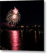 July Fireworks Metal Print
