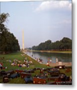 July In Dc Metal Print
