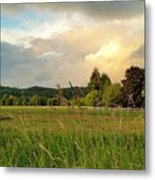 Sunset After Storm Metal Print
