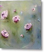 July Roses Metal Print