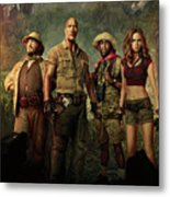 Jumanji Welcome To The Jungle 2.0 Metal Print