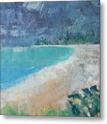 Jumby Beach Metal Print