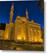 Jumeirah Mosque In Dubai, Uae Metal Print
