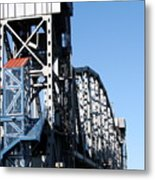 Junction Bridge Metal Print