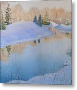 Junction Creek Metal Print