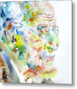 Jung - Watercolor Portrait.4 Metal Print