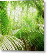 Jungle Abstract 1 Metal Print