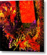Jungle At The Corner Of Concha And Laconia Metal Print by Eikoni Images