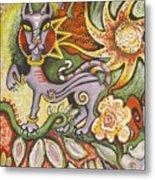 Jungle Cat Metal Print