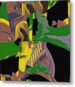 Jungle Dance IIi Of IIi Metal Print