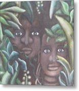 Jungle Depths Metal Print
