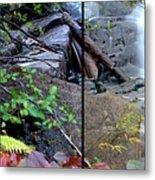Jungle Falls Metal Print