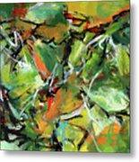 Jungle Green Metal Print