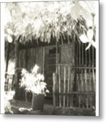 Jungle Hideaway Metal Print
