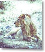 Jungle King Metal Print