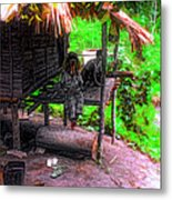 Jungle Life Metal Print