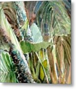Jungle Light Metal Print