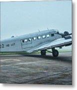 Junkers Ju-52 Metal Print