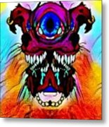 Junkie Cyclops Metal Print