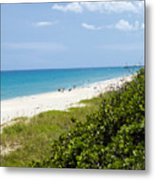 Juno Beach On The East Coast Of Florida Metal Print