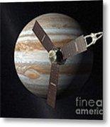 Juno Mission To Jupiter Metal Print