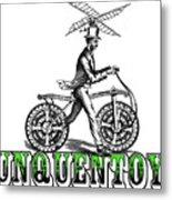 Junquentoys Bike-o-vator Metal Print