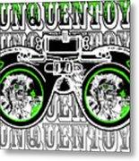 Junquentoys Goggle Fader Fashion Metal Print