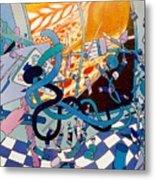 Jupiter Flyby - View From Artist Studio #1 Metal Print