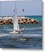 Jupiter Inlet In Florida Metal Print