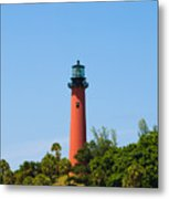 Jupiter Light In Florida Metal Print