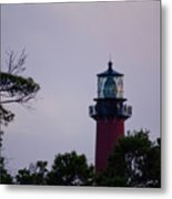 Jupiter Lighthouse Metal Print