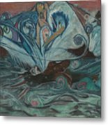 Jupiter Surf Metal Print