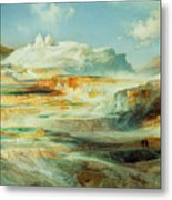 Jupiter Terrace  Yellowstone Metal Print