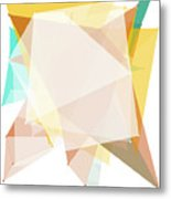 Jura Polygon Pattern Metal Print